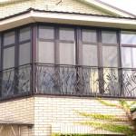 кованые балконные ограждения Tantiema