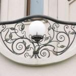 кованые балконные ограждения 1
