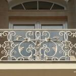 кованные балконные ограждения Тантьема