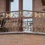 кованные балконные ограждения Tantiema