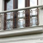 кованные балконные ограждения 1