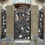 ковка ворота Тантьема