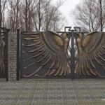 кованные ворота фото Тантьема