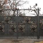 кованые ворота Тантьема
