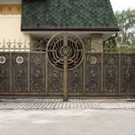 ворота кованые фото Тантьема