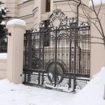 ворота кованые фото Tantiema