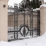 ворота кованые Tantiema