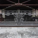 кованые ворота Tantiema