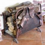 кованые каминные принадлежности